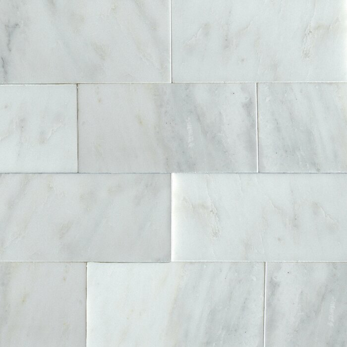 Greecian 3 X 6 Marble Subway Tile In White