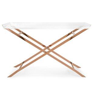 Fratessa Acrylic Tray Console Table by Mercer41