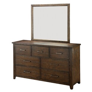 Trenton 7 Drawer Dresser with Mirror