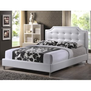 saito upholstered platform bed - Bed