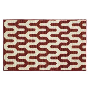 Mila Rust Area Rug by Structures