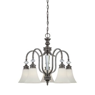 Lark Manor Lapierre 5-Light Shaded Chandelier