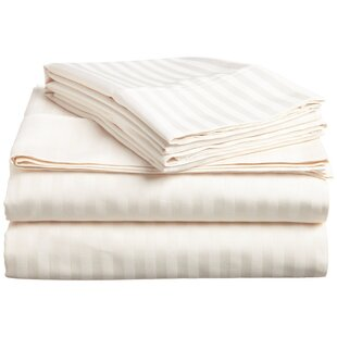 Earnestine Easycare and Hypoallergenic Fitted Sheet By Darby Home Co