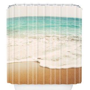 Reviews Bree Madden Ombre Beach Shower Curtain ByEast Urban Home