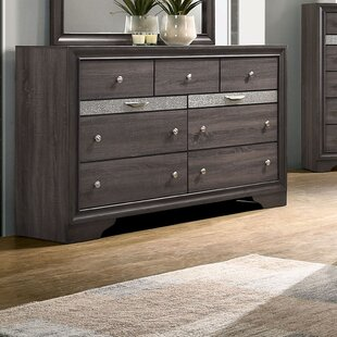 More 9 Drawer Dresser with Mirror