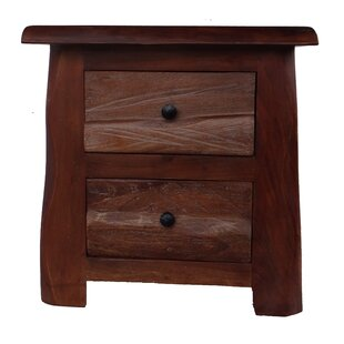 Millwright 2 Drawer Nightstand (Set of 2)