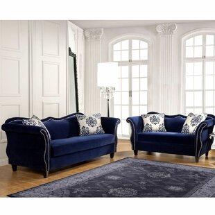 Gephart 2 Piece Living Room Set by Everly Quinn