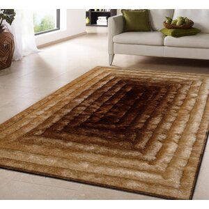 Buy Hand-Tufted Gold/Brown Area Rug!
