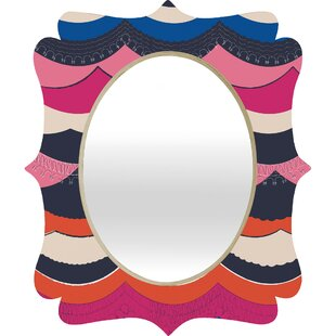 Deny Designs Vy La Unwavering Love Quatrefoil Accent Mirror