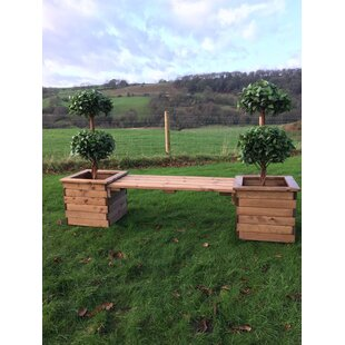 Willowood Wooden Planter Bench By Sol 72 Outdoor
