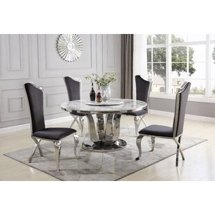 Reynold 6 Piece Dining Set Everly Quinn