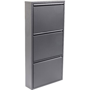 Review Caruso 6 Pair Shoe Storage Cabinet