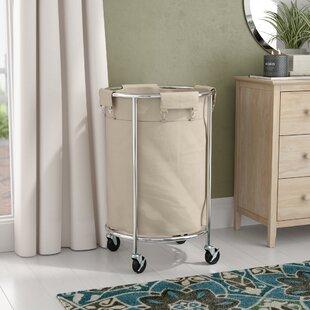 Rebrilliant Commercial Round Laundry Hamper