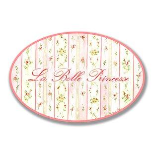 Paxson La Belle Princess Oval Wall Plaque ByHarriet Bee