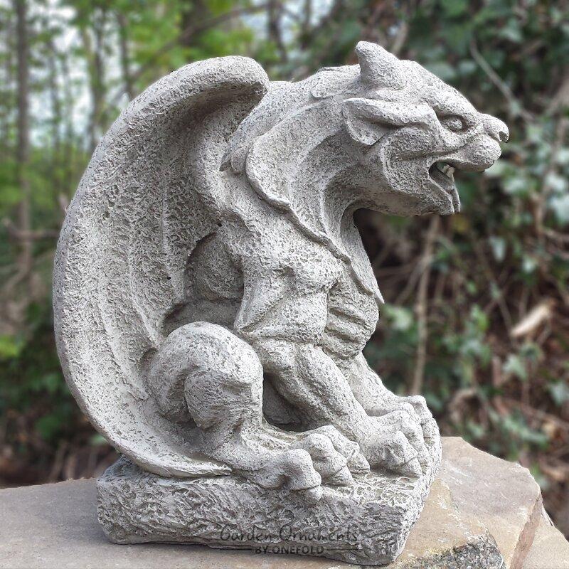 Lovely Wing Gargoyle Garden Statue