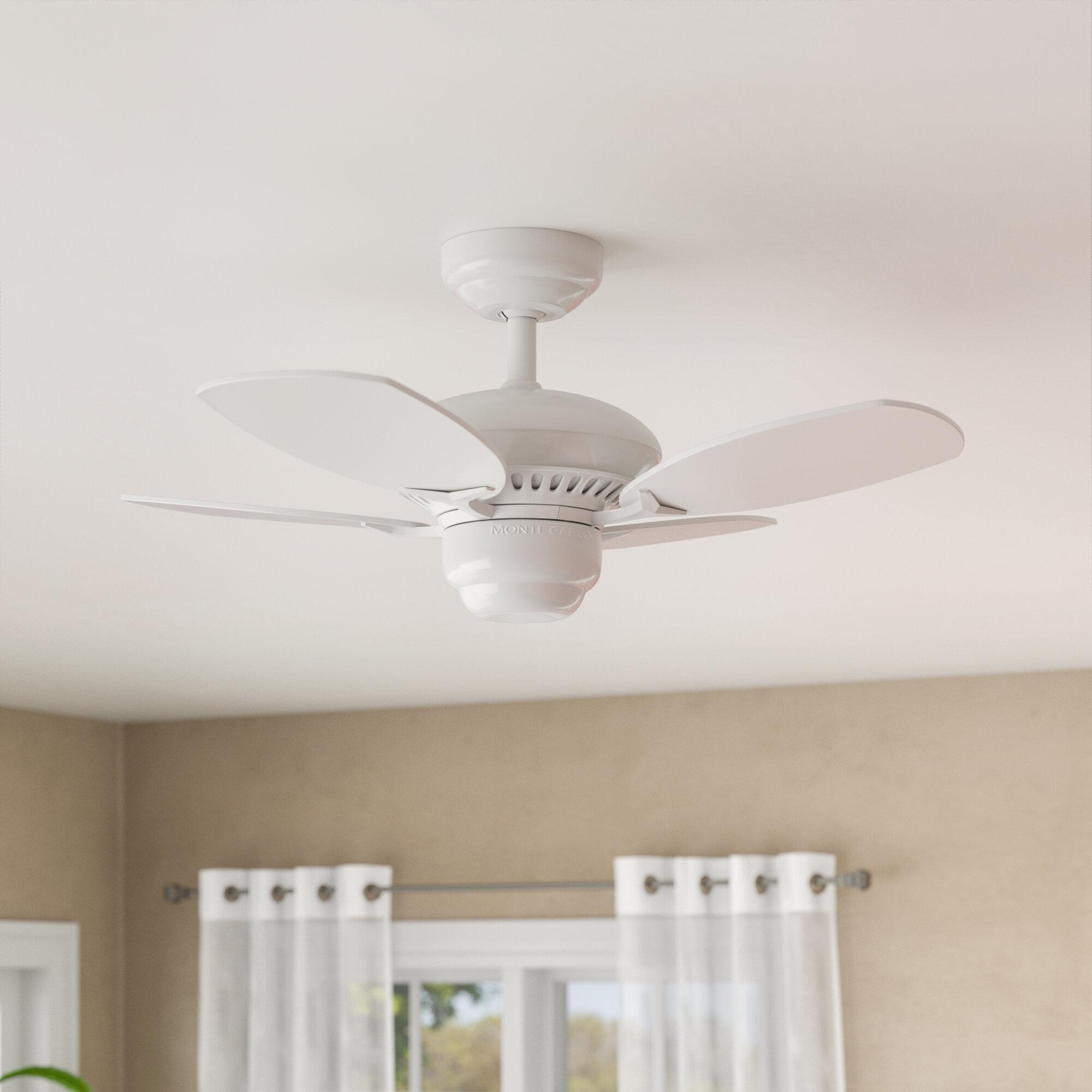 Charlton Home 28 Stewardson 4 Blade Standard Ceiling Fan With Pull Chain Reviews Wayfair Ca
