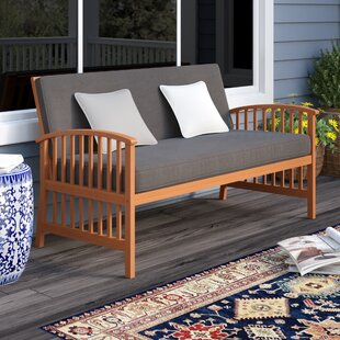 Greenup Outdoor Sofa with Cushions by Darby Home Co