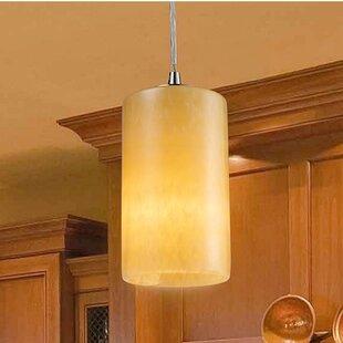 Bay Isle Home Millbrook 1-Light Cylinder Pendant