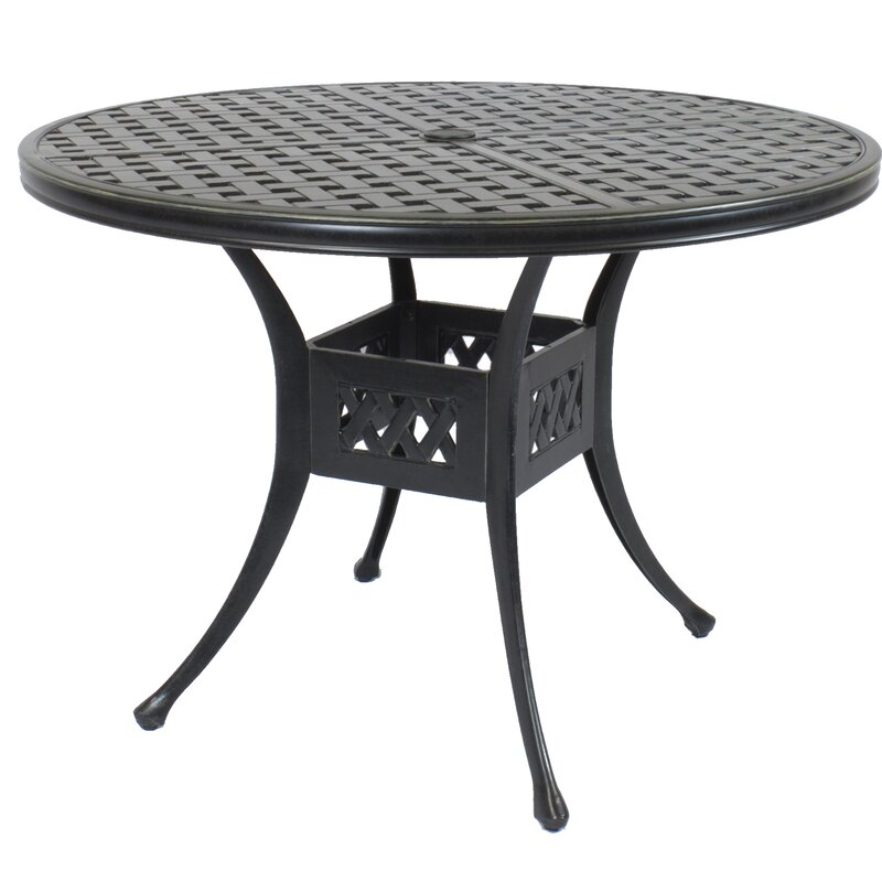 Canora Grey St Tropez Round Dining Table Reviews Wayfair