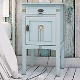Corrie 1 Drawer Nightstand by August Grove®