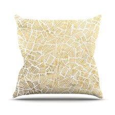 Inca Gold Trail Throw Pillow