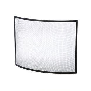 Single Panel Steel Fireplace Screen By Uniflame