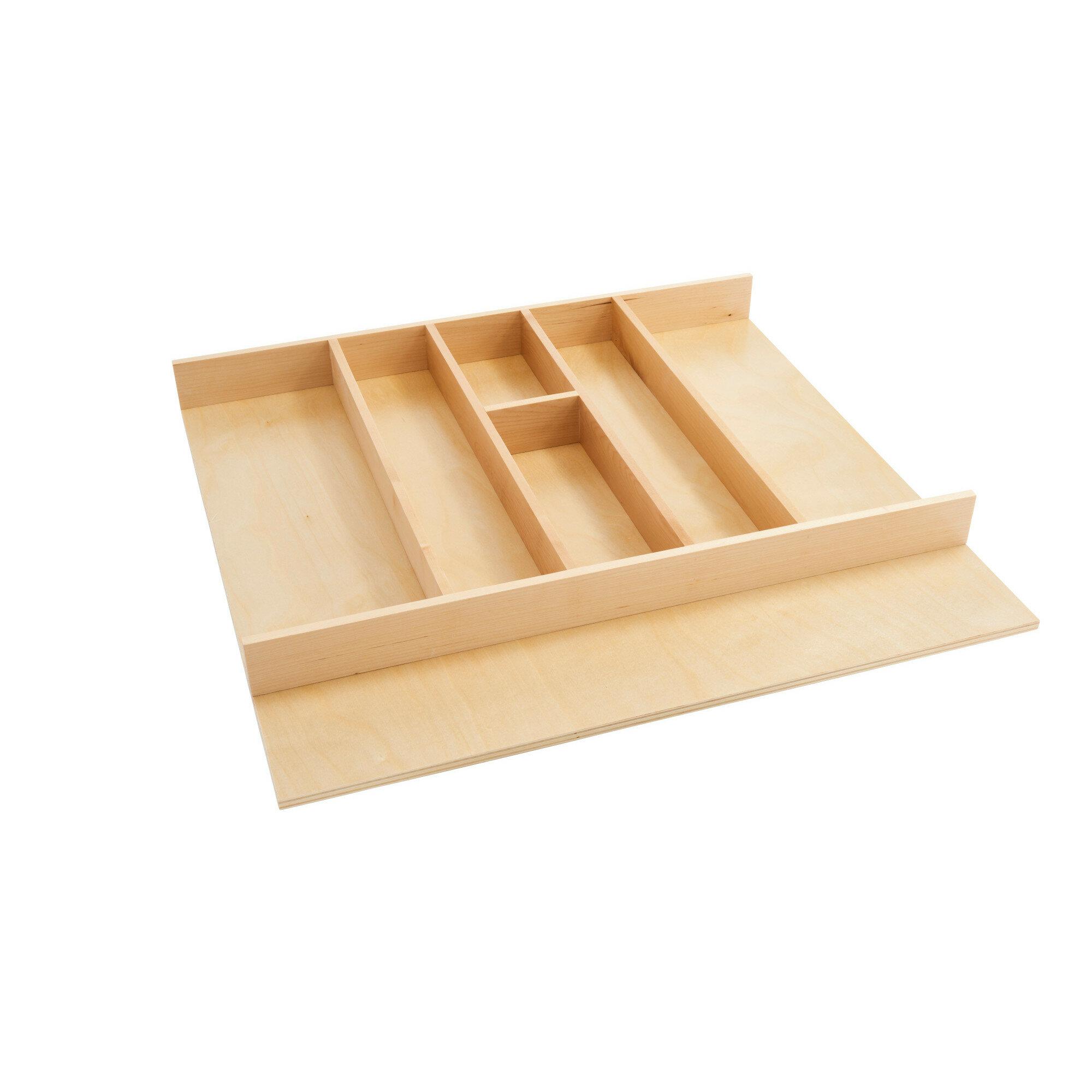 Rev A Shelf Adjustable Flatware Kitchen Utensils Drawer Organizer Reviews Wayfair