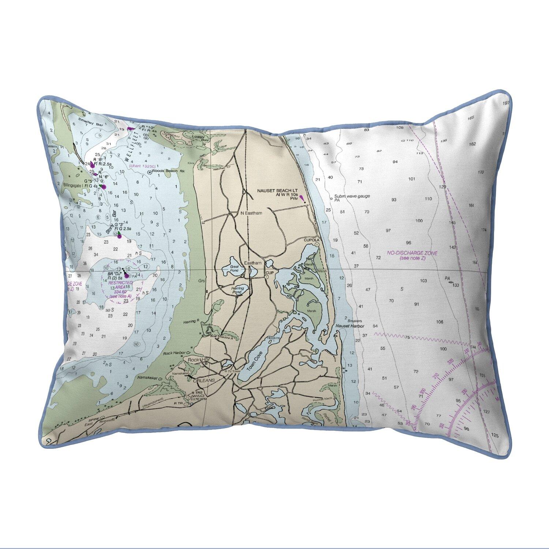 East Urban Home Cape Cod Nauset Beach Ma Corded Indoor Outdoor Lumbar Pillow Wayfair