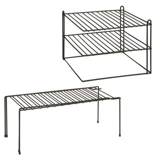 2 Piece Kitchen Shelving Rack Set