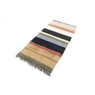 Gamelin Hand Hooked Wool Brown Indoor/Outdoor Rug By Bloomsbury Market