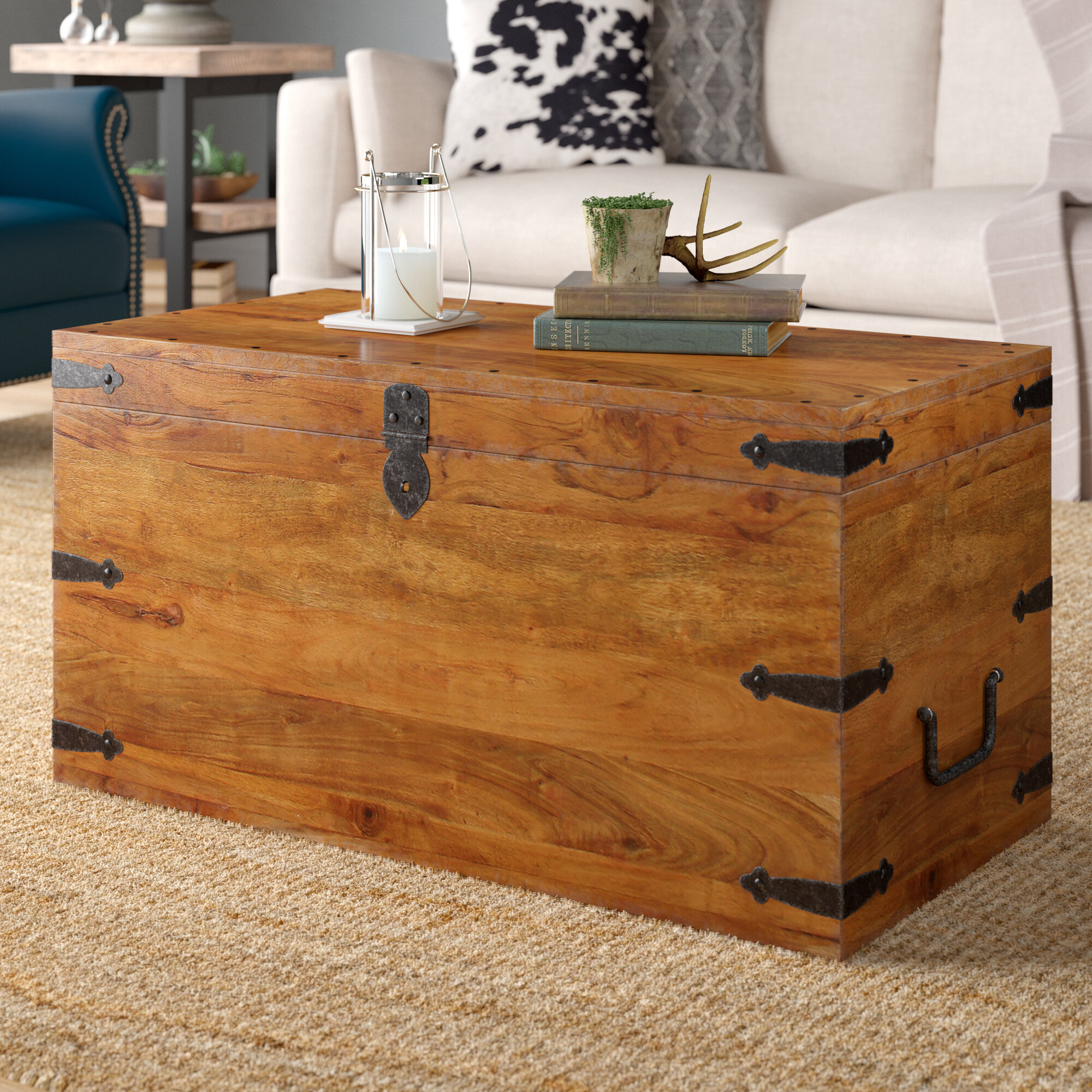 Three Posts Balic Trunk Coffee Table Reviews Wayfair Co Uk