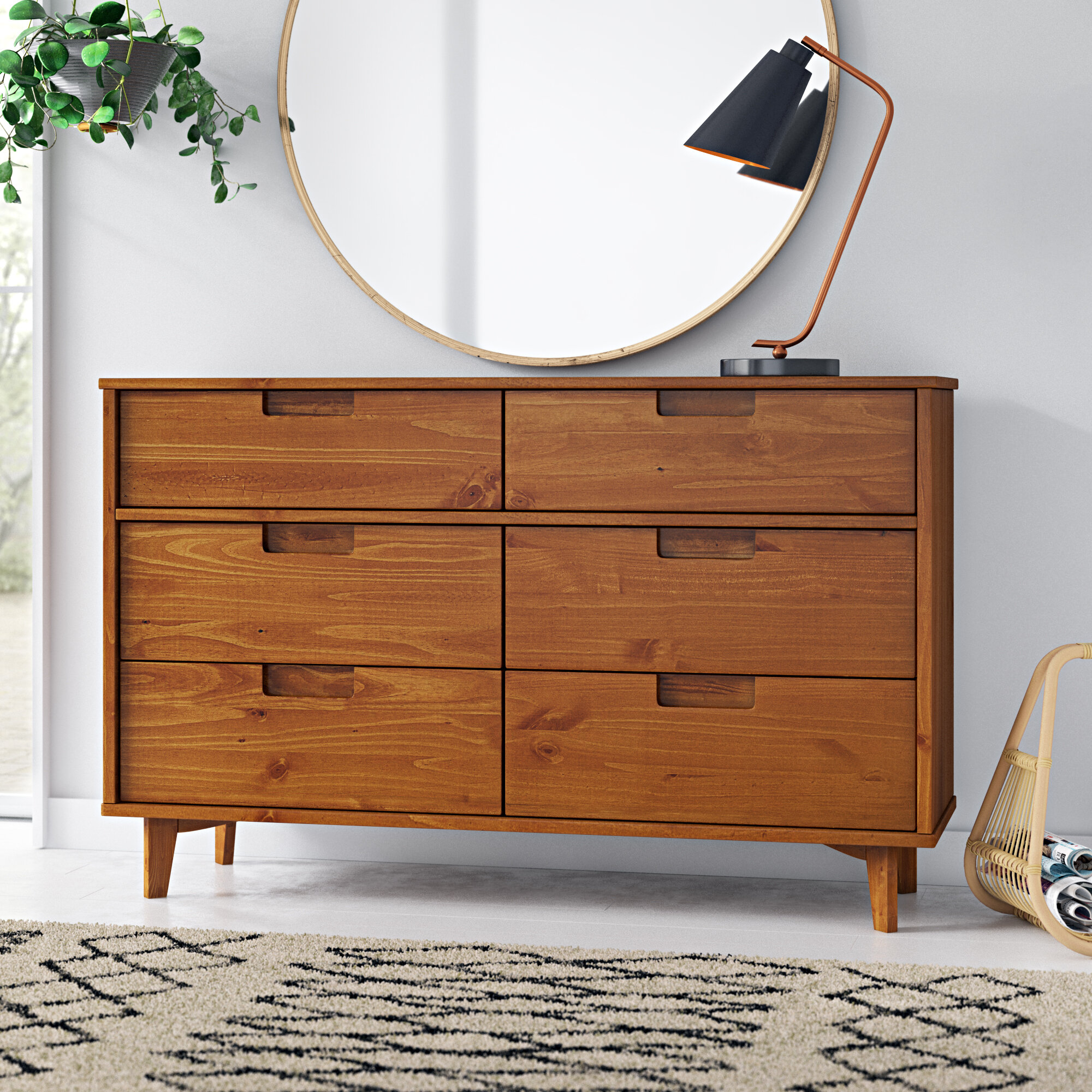 Mid Century Modern Solid Wood Dressers Chests You Ll Love In 2021 Wayfair
