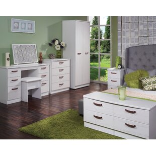 Buckingham 3 Drawer Bedside Table Fully Assembled By Welcome Furniture