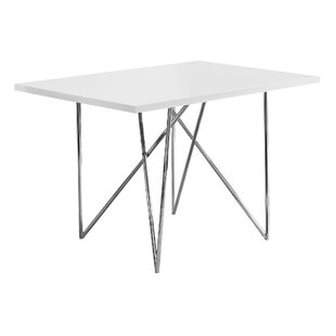 Haynes Metal Dining Table Ebern Designs