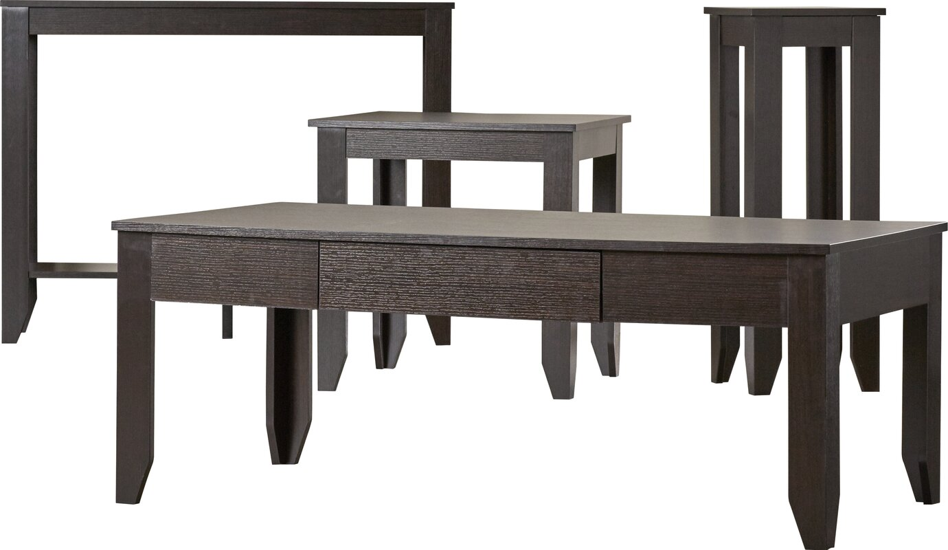Kiley 4 Piece Coffee Table Set