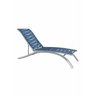 Tropitone South Beach Elite EZ Span Wave Segment Reclining Chaise Lounge