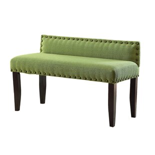 Moyers Upholstered Bench by Alcott Hill
