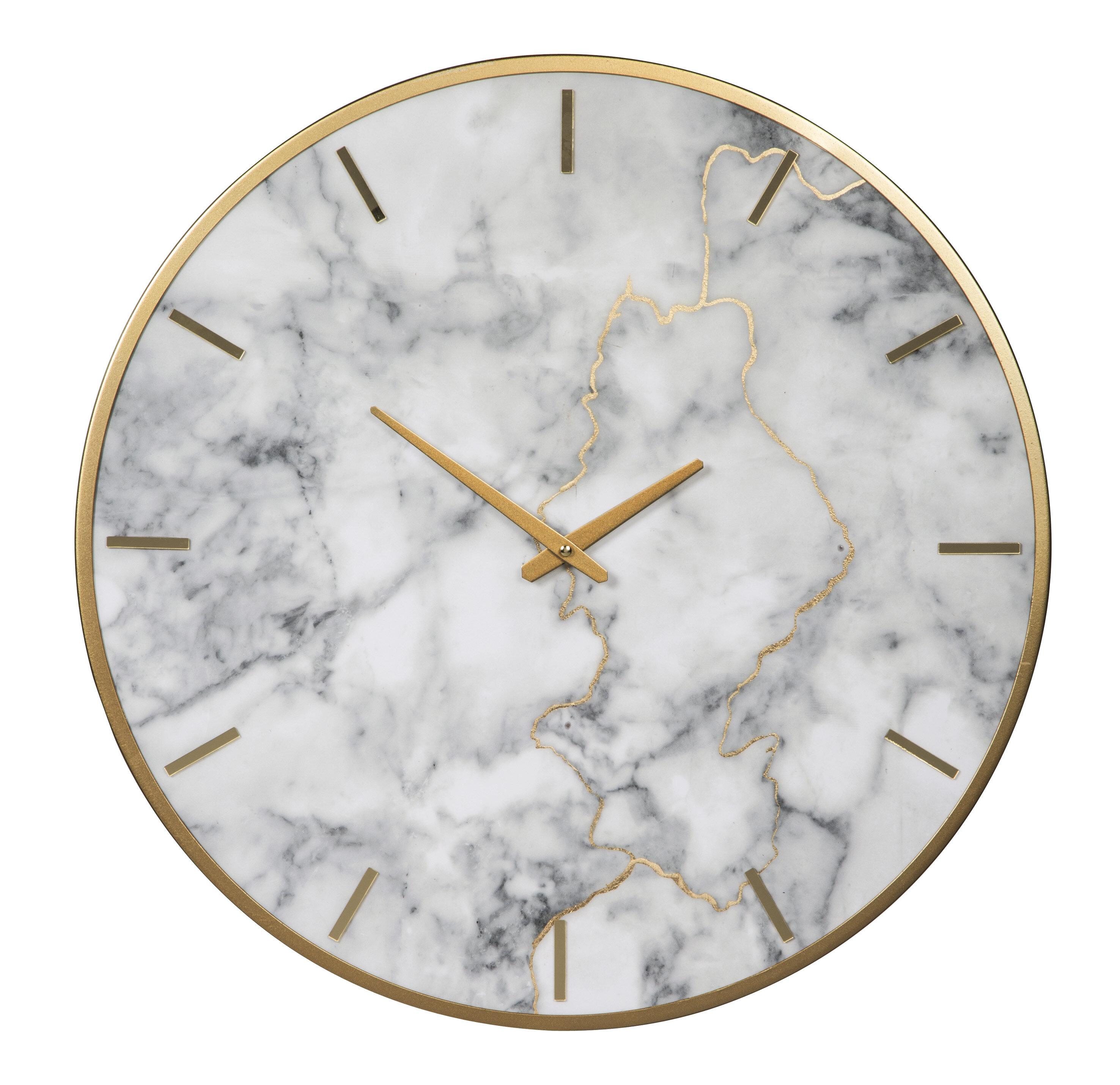 Oversized Wendel 23 6 Wall Clock Reviews Allmodern