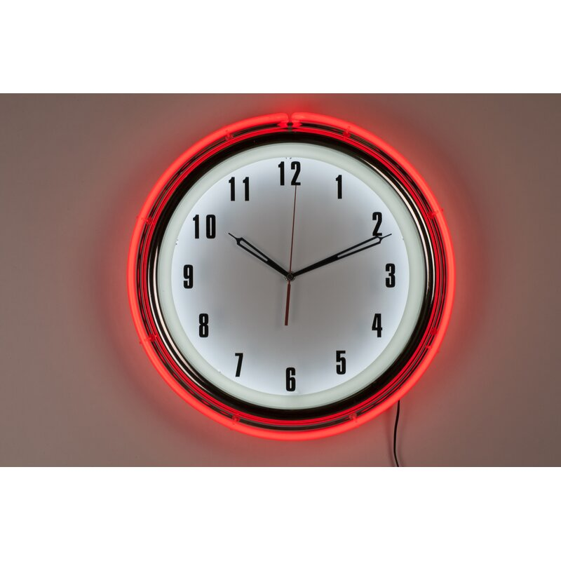 Control Brand Neon Diner 16 Wall Clock