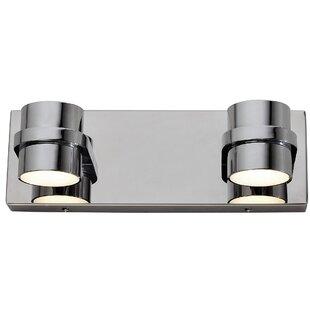 Jade 2-Light LED Bath Bar by Orren Ellis
