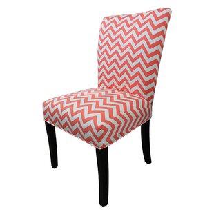Latitude Run Garavan Cotton Parson Chair (Set of 2)