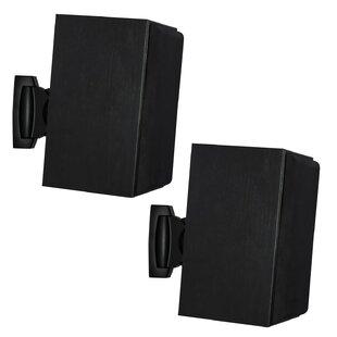 Greer Heavy Duty Universal Adjustable Design Wall Speaker Mount Set of 2 by Symple Stuff