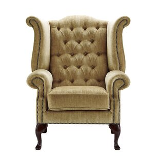 Mojokerto Wingback Chair By Rosalind Wheeler