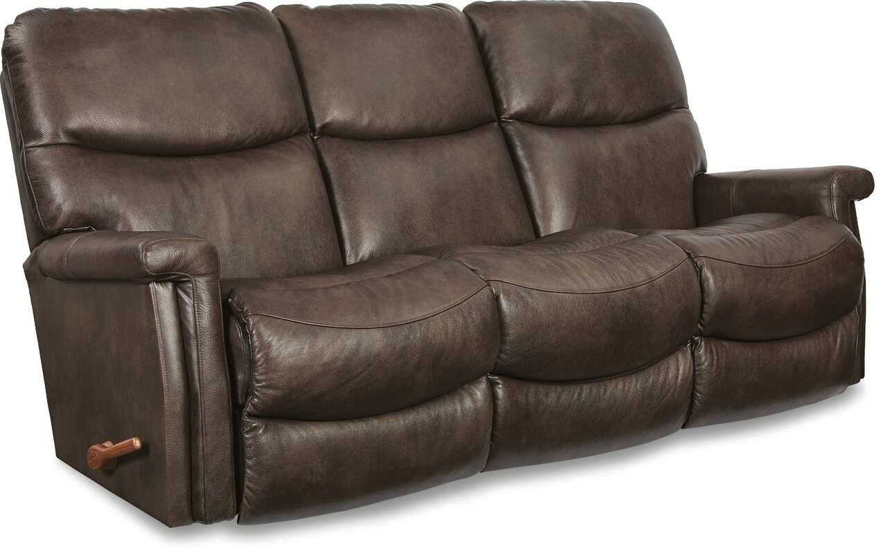 Baylor Leather Reclining Sofa Part 61