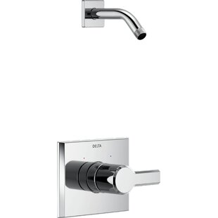 Pivotal Monitor 14 Series Shower Faucet Trim Less Head with Monitor