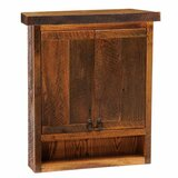 Dianella Barnwood 32 W x 36 H Wall Mounted Cabinet by Union Rustic