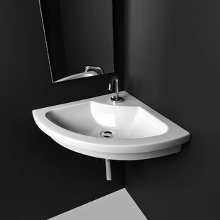sink bathroom sinks small saving corner modern space design creating