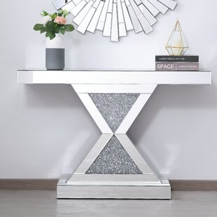 Abelardo Mirrored Console Table
