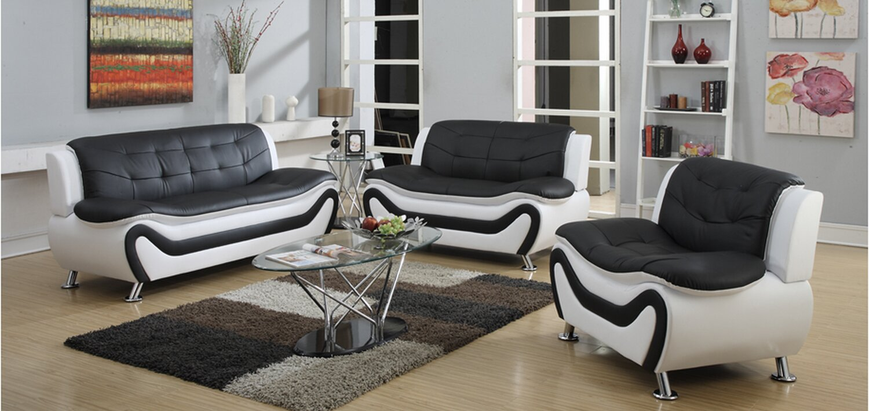 High Quality Machelle 3 Piece Living Room Set Part 18