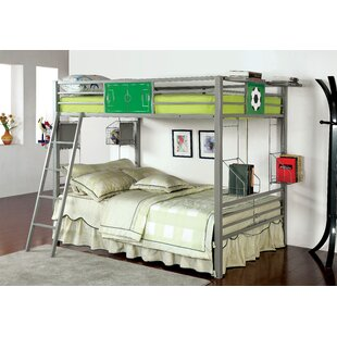 Buy luxury Sporty Full over Full Bunk Bed by Hokku Designs Reviews (2019) & Buyer's Guide